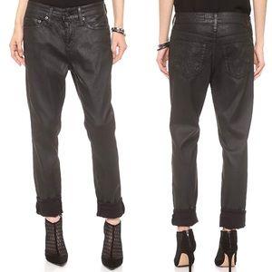 AG The Beau slouchy skinny jeans leatherette 31R